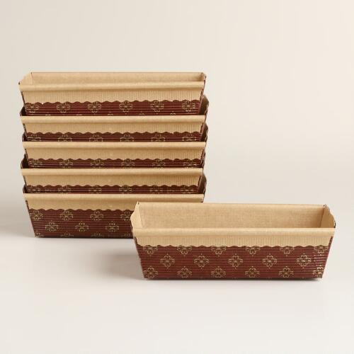 Patisserie Loaf Pans, 6 Pack