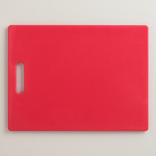 Red Cutting Board