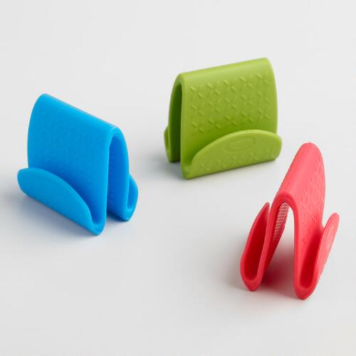 Silicone Pinch Grips, Set of 3