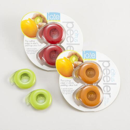 Citrus Peelers, Set of 2