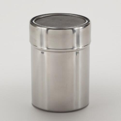 Stainless Steel Shaker with Mesh Lid