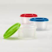 Condiment Containers, Set of 3