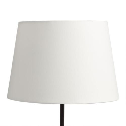 Solid Off-White Accent Lamp Shade