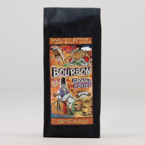 Bourbon Flavored Ground Coffee