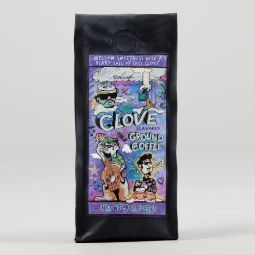 Clove Flavored Ground Coffee
