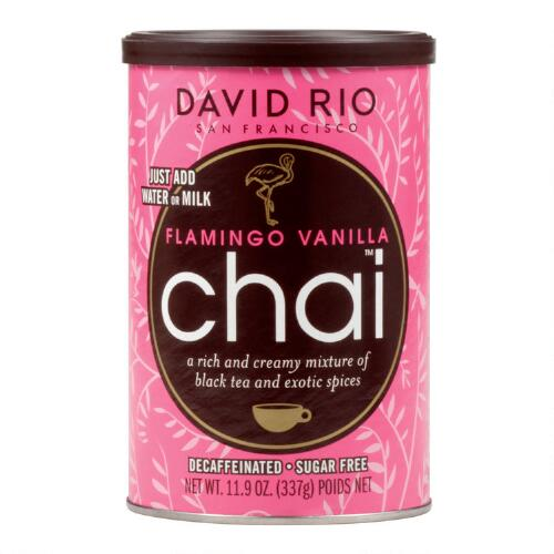 David Rio Flamingo Vanilla Decaf Chai Mix, Set of 6