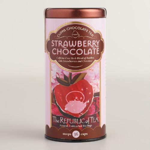 The Republic of Tea Strawberry Chocolate Tea, 36-Count