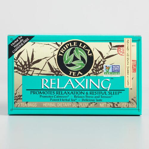 Triple Leaf Relaxing Tea, Set of 6