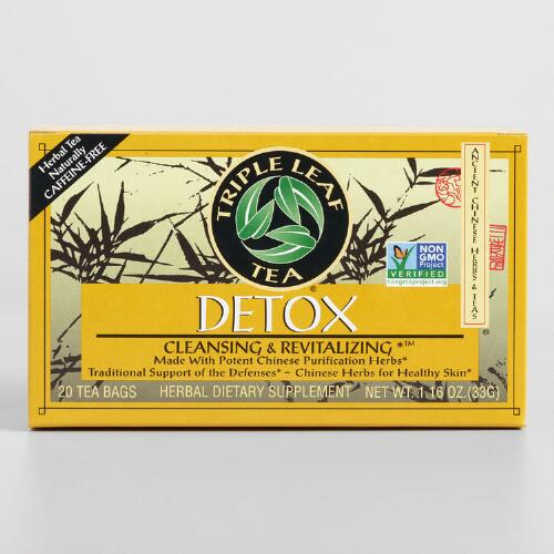 Triple Leaf Detox Tea, Set of 6