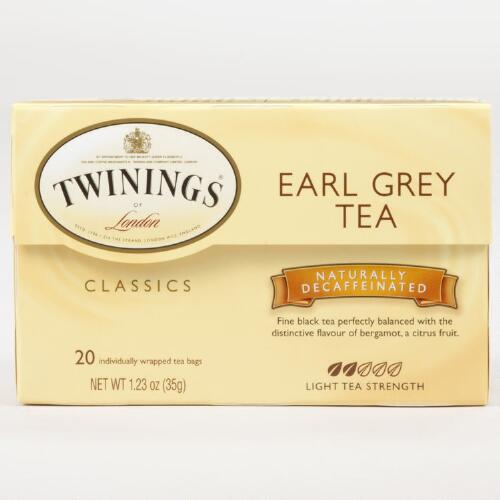 Twinings Decaf Earl Grey Tea, 20-Count