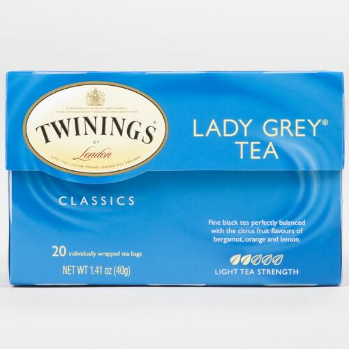 Twinings Lady Grey Tea, 20-Count
