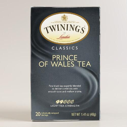 Twinings Prince of Wales Tea, Set of 6