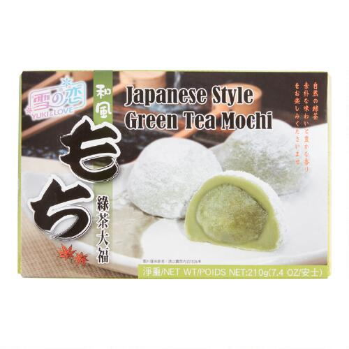Green Tea Mochi, Set of 6