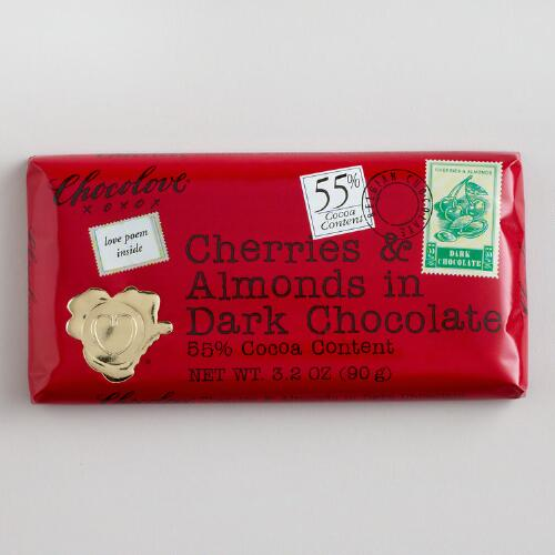 Chocolove Cherries and Almonds in Dark Chocolate