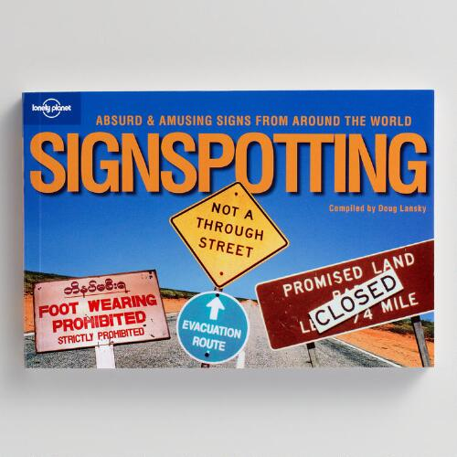 Sign Spotting Books by Doug Lansky