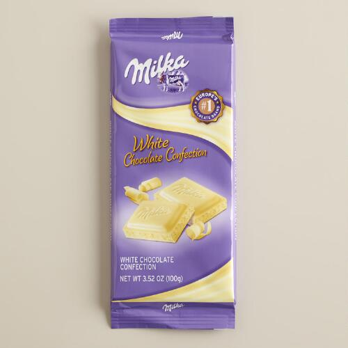 Milka White Chocolate Confection