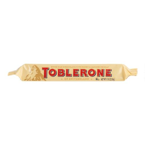 Small Toblerone Milk Chocolate Bar, Set of 5