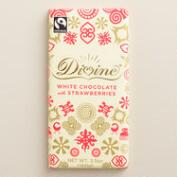 Divine White Chocolate with Strawberries, Set of 2