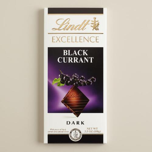 Lindt Excellence Black Currant Bar