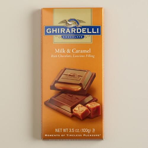 Ghirardelli Milk Chocolate Caramel Filled Bar