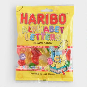 Haribo Alphabet Letters, Set of 12