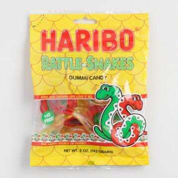 Haribo Rattle-Snakes, Set of 12