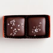 Jo's 2-Piece Dark Chocolate Salted Caramels