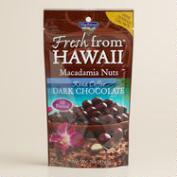 MacFarm's Kona Coffee Dark Chocolate Macadamia Nuts Set of 2