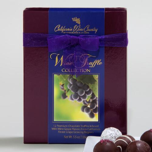 Wine Country Chocolate Truffles