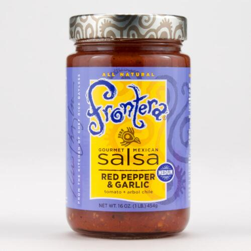 Frontera Red Pepper and Garlic Salsa