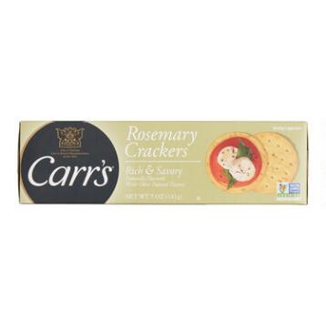 Carr's Rosemary Crackers, Set of 12