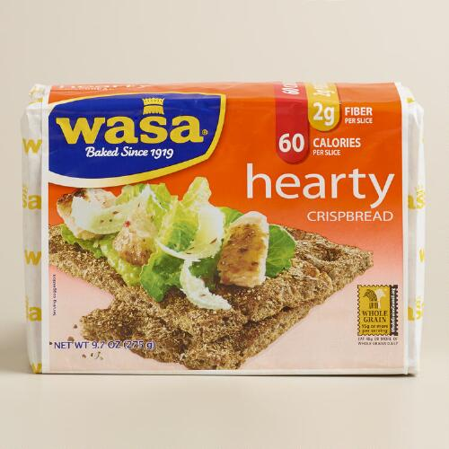 Wasa Hearty Rye Crispbread, Set of 12