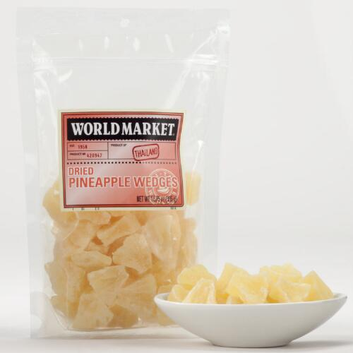 World Market® Dried Pineapple Wedges
