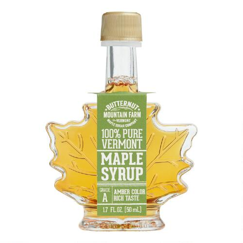 Mini Maple Leaf Syrup Bottle