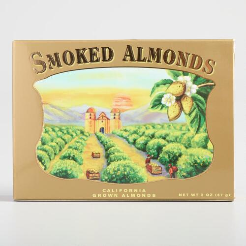 Los Olivos Smoked Almonds, Set of 12
