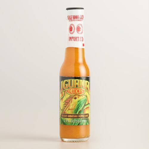 Iguana Golden Habanero Mini Pepper Sauce, Set of 8