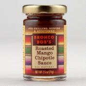 Bronco Bob's Roasted Mango Mini Chipotle Sauce, Set of 12