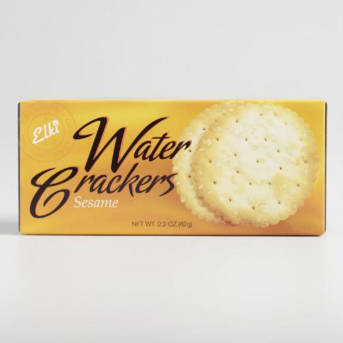 Elki Sesame Crackers, Set of 24