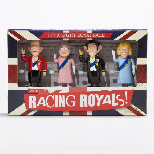 Wind-Up Racing Royals, Set of 4
