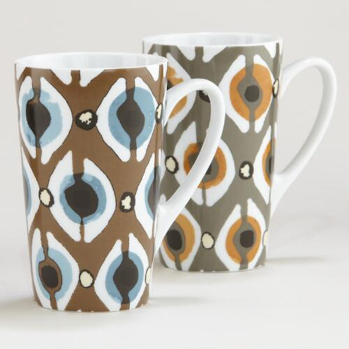 Serengeti Dots Mug, Set of 2