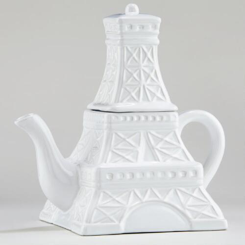 Eiffel Tower Teapot 27oz