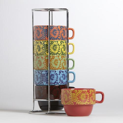 Donna Stacking Mugs