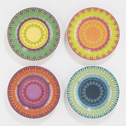 Venetian Nico Plates, Set of 4