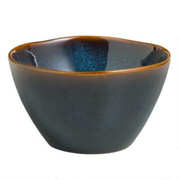 Indigo Organic Reactive Bowls, Set of 2
