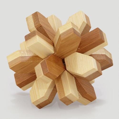 Bamboo Snowflake Puzzle
