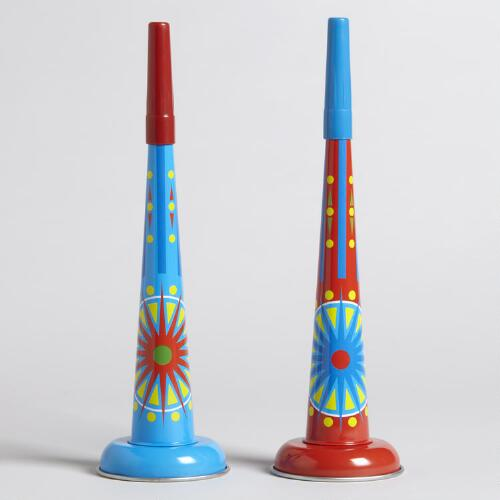 Tin Horns, Set of 2