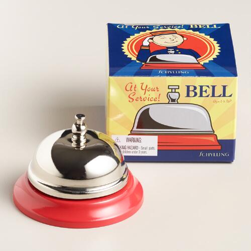 Red Service Bell