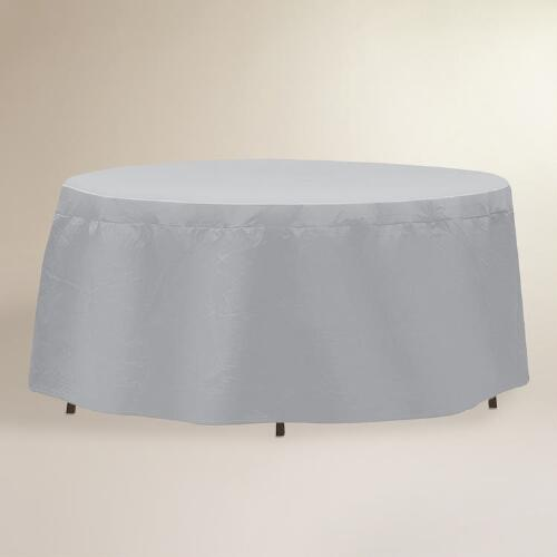 Oval or Rectangular Outdoor Table Cover