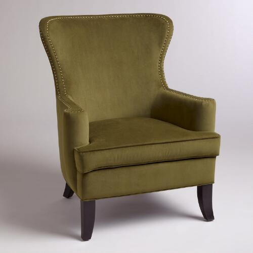 Caper Elliott Wingback Chair