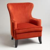 Nutmeg Elliott Wingback Chair